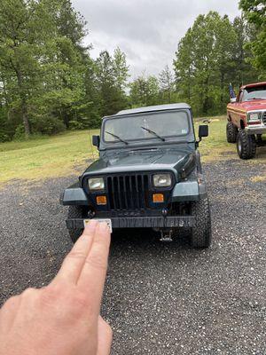 93 Jeep Wrangler YJ for Sale in Partlow, VA