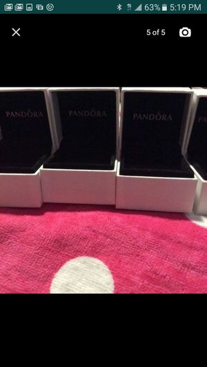 PANDORA BOXES AUTHENTIC FOR SALE $5 EACH $25 FOR ALL for Sale in New York, NY