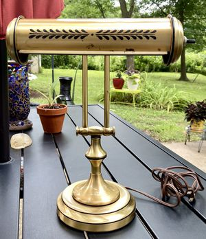 Vintage Underwriters Laboratories Desk/Office/Piano Lamp for Sale in Columbia, MO