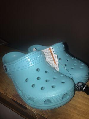 Kids Teal Crocs (size 13 childrens) for Sale in Prince George, VA