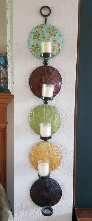 Decorative metal votive candle holder for Sale in Pompano Beach, FL