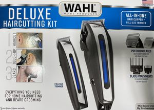 Brand New Wahl Complete Deluxe Haircutting Kit for Sale in Clovis, CA