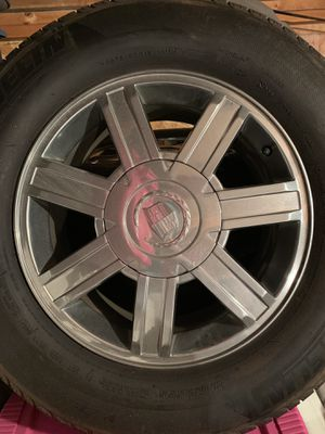 """Cadillac 18"""" Rims & Tires for Sale in Normal, IL"""