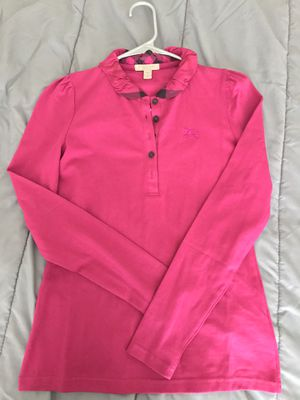 Burberry long sleeve (pink) for Sale in Glendale, AZ