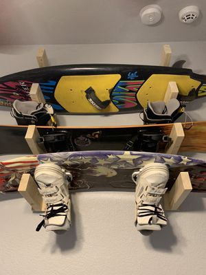 Wakeboard, snowboard, ski, surfboard rack for Sale in Phoenix, AZ