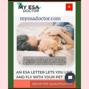 ESA letter Lets You Live And Fly With Your Pet dog for Sale in Miami, FL