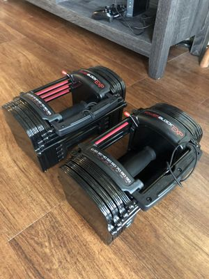 Power Block EXP 5-50lbs adjustable weights for Sale in Austin, TX