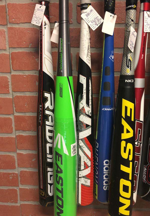 """Bbcor baseball bats 34, 33, 32 and 31"""""""