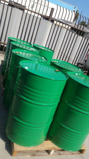 Mint condition like new 55 , gallon metal drums $15 each for Sale in Rosemead, CA