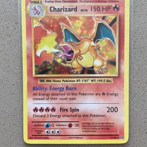 2015 XY Evolutions Holo Charizard Pokémon Card for Sale in Irvine, CA