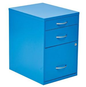 Blue File Cabinet (14.5 wide 18.25 deep 21.25 high) for Sale in Los Angeles, CA