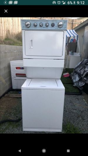 2016 Whirlpool stackable 220 volt top of the line for Sale in San Diego, CA