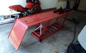 Motorcycle lift for Sale in San Dimas, CA