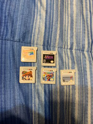 Nintendo 3DS games for Sale in Creedmoor, TX