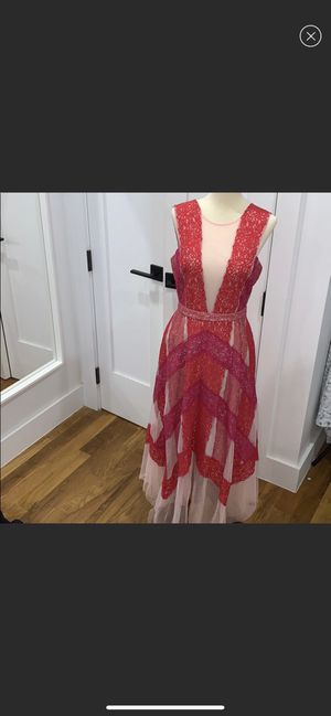 BCBG pink lace dress for Sale in Brooklyn, NY
