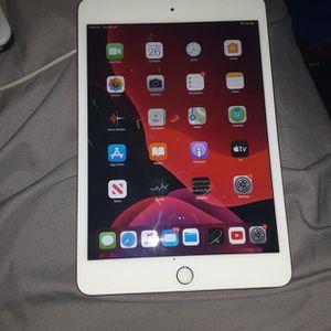 iPad Mini Finger Print Rose Gold 64GB for Sale in Washington, DC