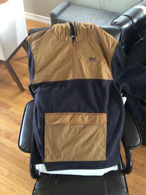 NEW - Vans Tech Fleece Anorak Jacket - Men's L for Sale in Long Beach, CA