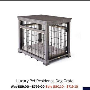 Lg Luxury Dog Crate for Sale in Yorba Linda, CA
