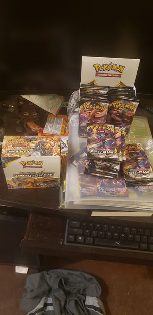 Pokemon cards for sale - mostly Sword & Shield and Rebel Clash for Sale in El Mirage, AZ