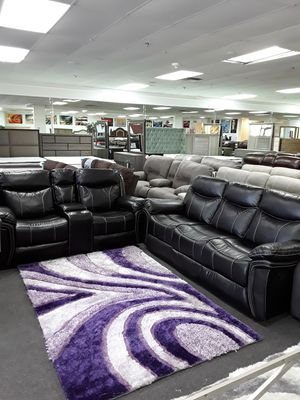 Beautiful Reclining Sofa & Loveseat Set at $700 Off Retail !!!!!! for Sale in West Palm Beach, FL