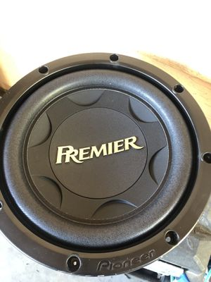 PIONEER PREMIER subwoofer and Estereo car dual usb with Bluetooth for Sale in West Valley City, UT