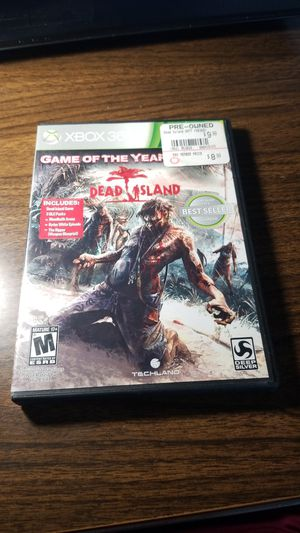 Dead Island Game of the Year Edition Xbox 360 for Sale in Pittsburgh, PA