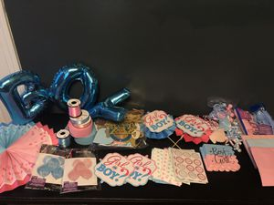 Gender reveal decorations for Sale in Garden Grove, CA