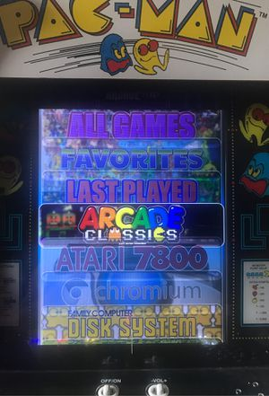 1up Arcade 2000 Game modded cabinet Pac Man for Sale in Rancho Cucamonga, CA