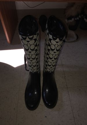 1451cd2a New and Used Coach boots for Sale in Monroe, MI - OfferUp