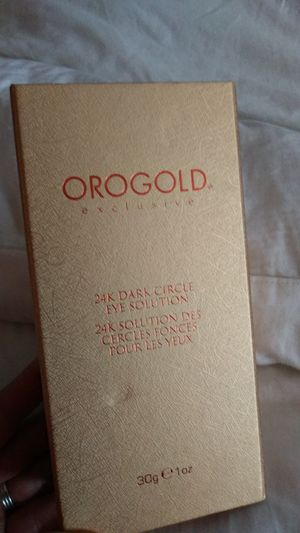 Orogold 24k dark circle eye solution for Sale in Port Richey, FL