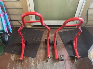 Brand new stand for motorcycle for Sale in Seattle, WA