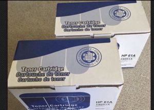 2X - HP laser jet 4100 series Compatible toner cartridges - HP 61A C8061A for Sale in Los Angeles, CA