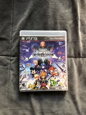 Kingdom hearts 2.5 remix PS3 for Sale in Pinellas Park, FL