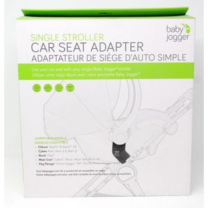 Baby jogger, single stroller car seat adapter for Sale in Puyallup, WA