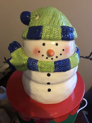 Scentsy Snowman warmer for Sale in Odessa, FL