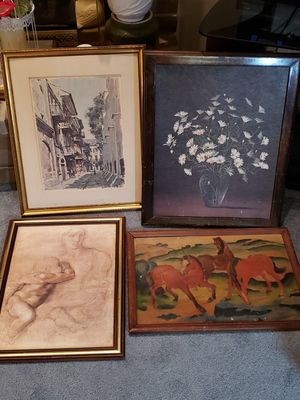 4 Vintage Wall Art for Sale in Crofton, MD