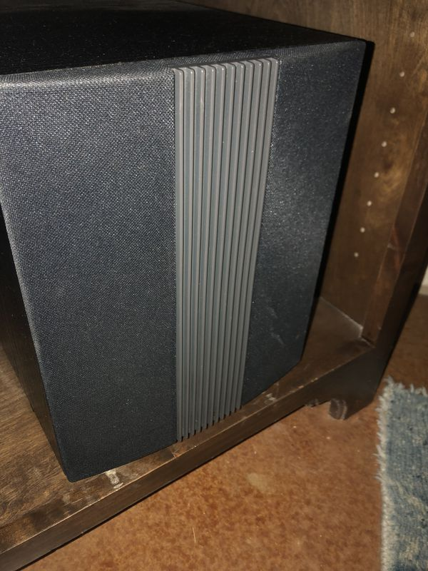 Onkyo amp , Polk center channel and sub