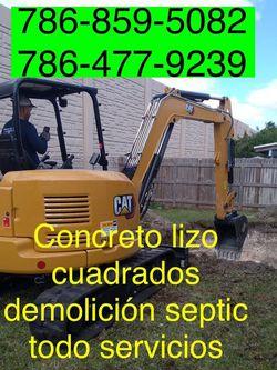 Excavadora Mini Excavator Bobcat And Volteo.)✅(((.demoliciones Servic,es.)))✅✅✅.!!!. for Sale in Miami,  FL