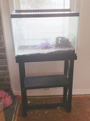 50 gallon fish tank plus stand for Sale in Tacoma, WA