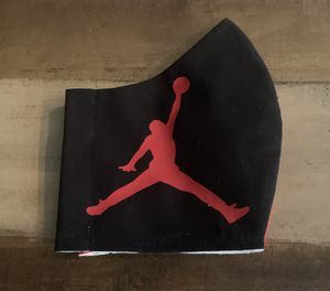 Face covering Jordan basketball red/black for Sale in Spring Hill, FL