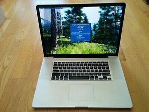 """Macbook Pro A1297 17"""" i7-2720QM 2.2GHz, Radeon 6750 Early-2011, Upgraded with charger for Sale in Atlanta, GA"""