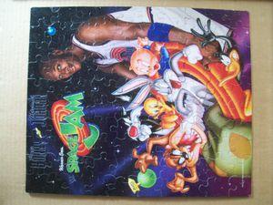 1996 SPACE JAM - 100 Pc. Puzzle 12x15 - JORDAN Daffy BUGS BUNNY Tweety PORKY Taz for Sale in Dover, FL