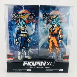 Exclusive Dragonball Fighter Figpin Z XL SSGSS Vegeta SSGSS Goku for Sale in Virginia Beach, VA