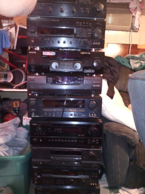 Home stereo receivers for Sale in Marietta, GA