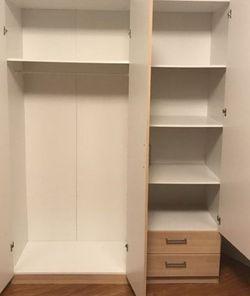 Ikea KULLEN Birch Wardrobe Closet for Sale in La Palma,  CA