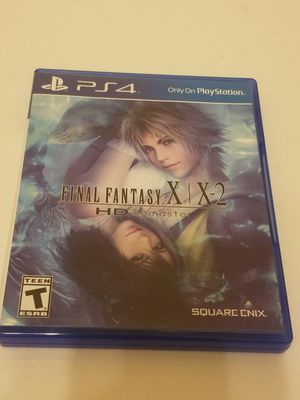 Ps4 final fantasy X X-2 HD Remastered for Sale in Cypress, TX