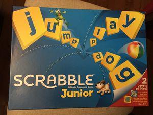 Scrabble Junior Board Game for Sale in Andover, MA