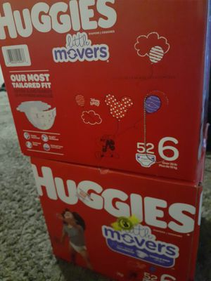 Huggies Pampers Size 6 for Sale in Denver, CO