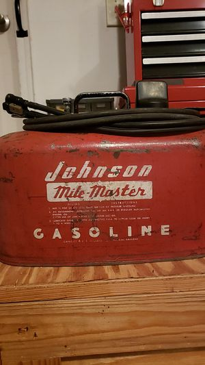 Johnson Mile Master gas can for Sale in London, OH
