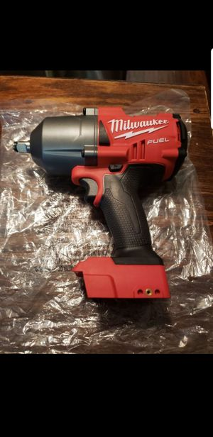 Milwaukee M18 FUEL 18-Volt Lithium-Ion Brushless Cordless 1/2 in. Impact Wrench with Friction Ring (Tool-Only) for Sale in Riverside, CA